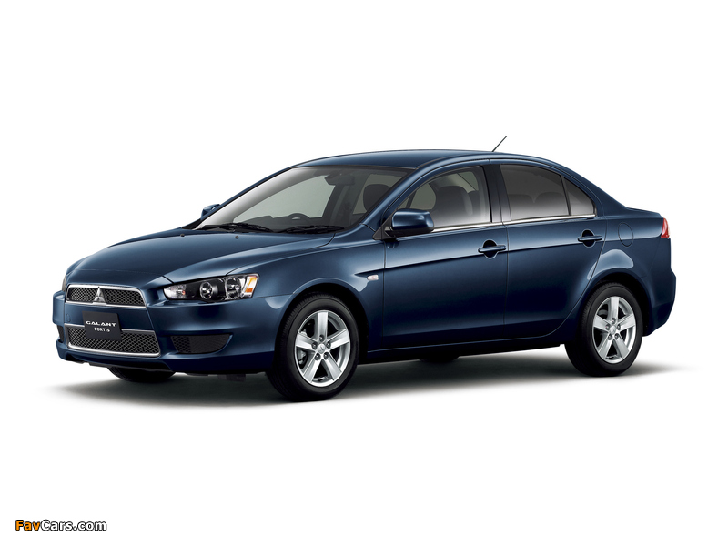 Mitsubishi Galant Fortis 2007 pictures (800 x 600)