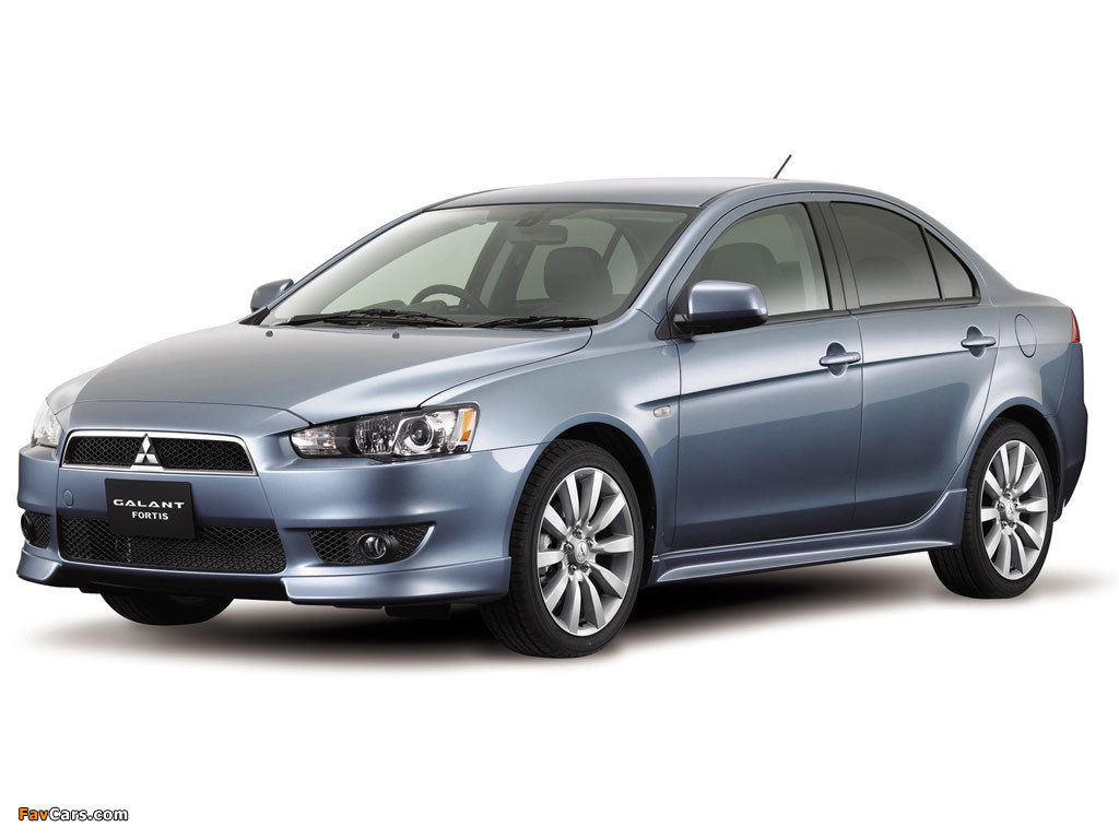 Mitsubishi Galant Fortis 2007 pictures (1024 x 768)
