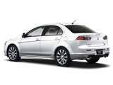 Mitsubishi Galant Fortis Ralliart 2008 wallpapers