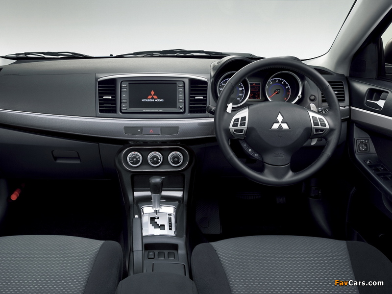 Pictures of Mitsubishi Galant Fortis 2007 (800 x 600)