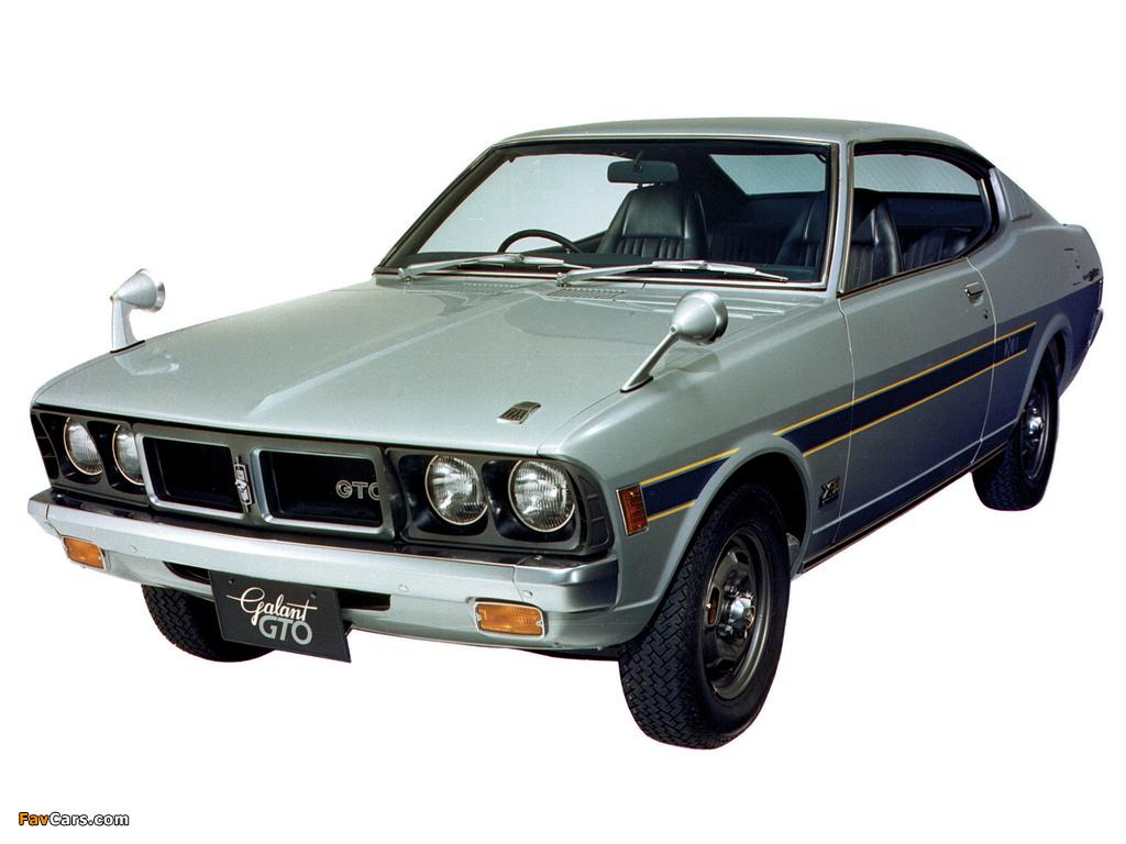 Mitsubishi Galant Gto 17x 1972 73 Wallpapers 1024x768