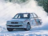 Mitsubishi Galant VR-4RS Swedish Rally (E39A) 1991 images