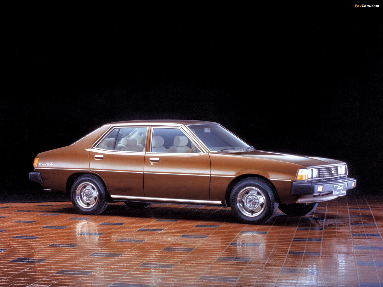 Photos of Mitsubishi Galant Sigma (III) 1978–80 (1600 x 1200)