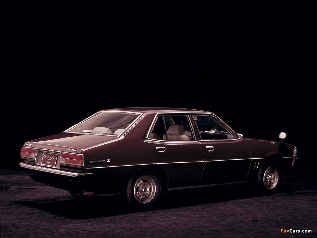 Pictures of Mitsubishi Galant Sigma (III) 1976–78 (1024 x 768)