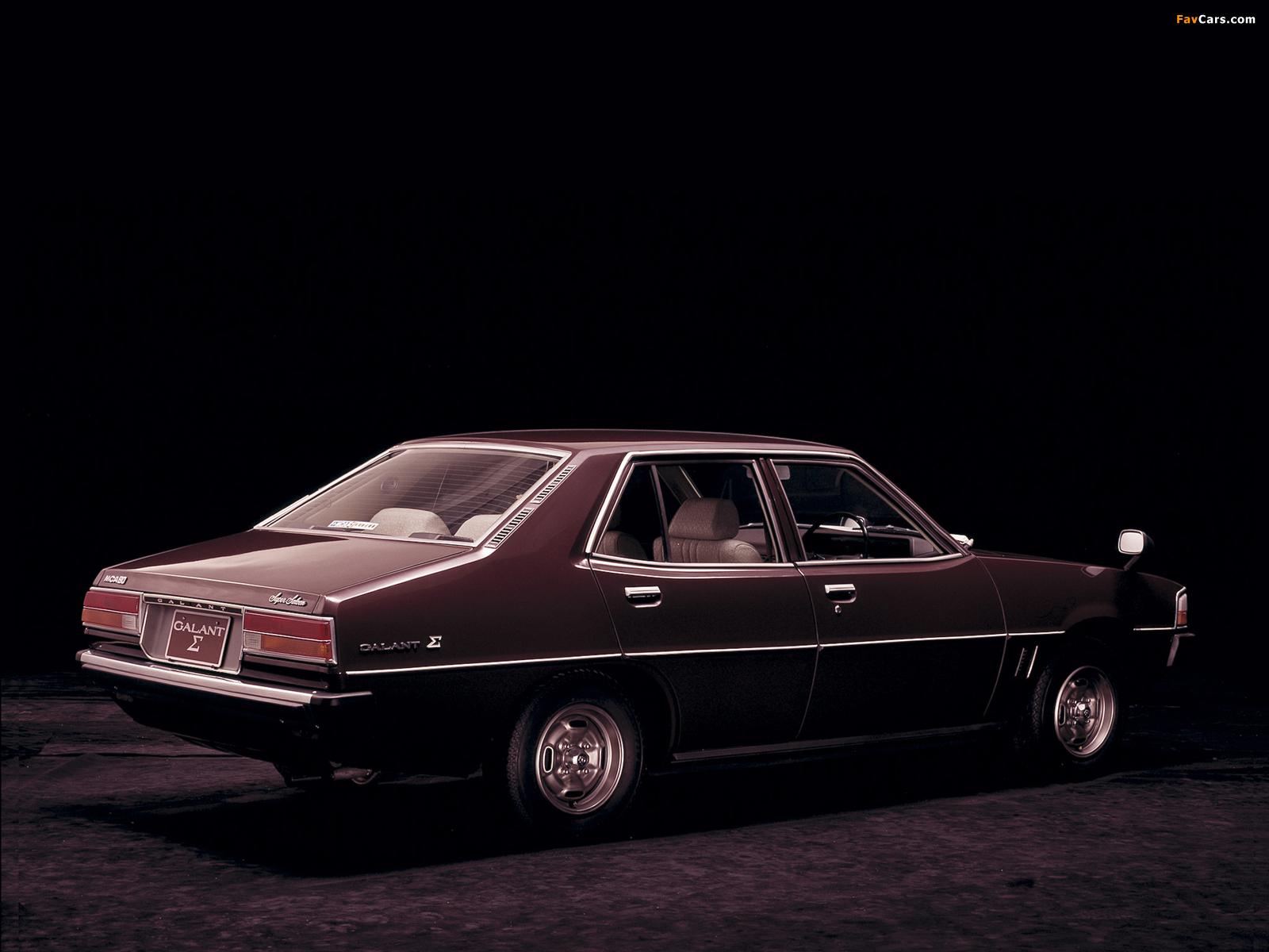 Pictures of Mitsubishi Galant Sigma (III) 1976–78 (1600 x 1200)
