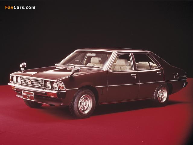 Mitsubishi Galant Sigma (III) 1976–78 wallpapers (640 x 480)
