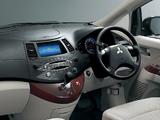 Mitsubishi Grandis JP-spec 2005–09 photos