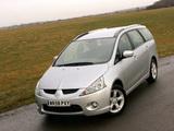 Pictures of Mitsubishi Grandis UK-spec 2003–10