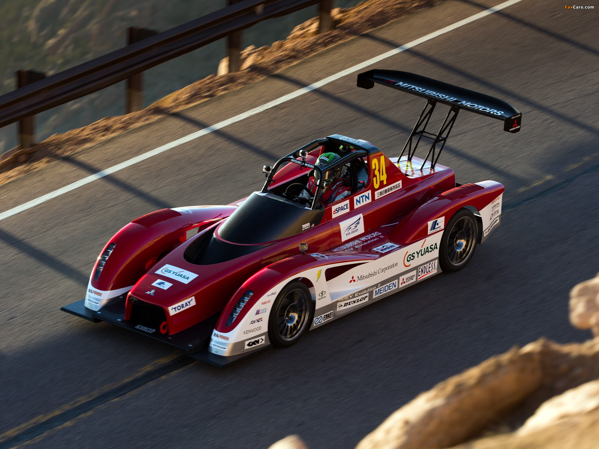Photos of Mitsubishi MiEV Evolution II Pikes Peak 2013 (2048 x 1536)