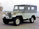 Mitsubishi Jeep Metal Top (J20H) 1965–82 wallpapers