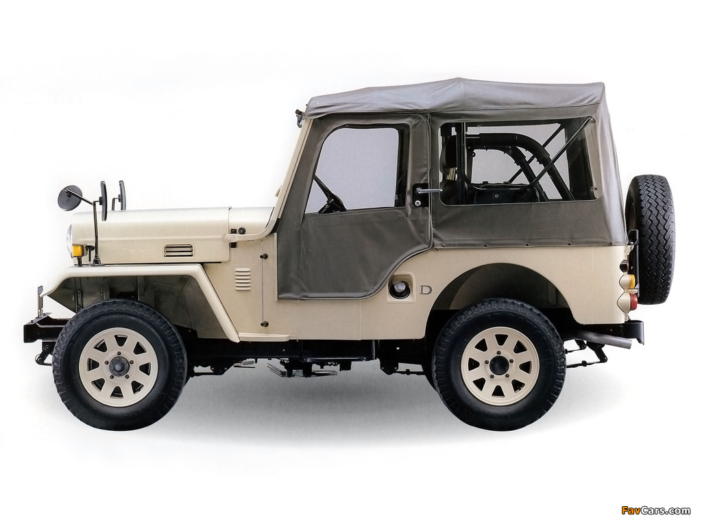 Photos Of Mitsubishi Jeep J50 1970 98 1024x768