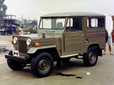 Pictures of Mitsubishi Jeep Metal Top (J20H) 1965–82