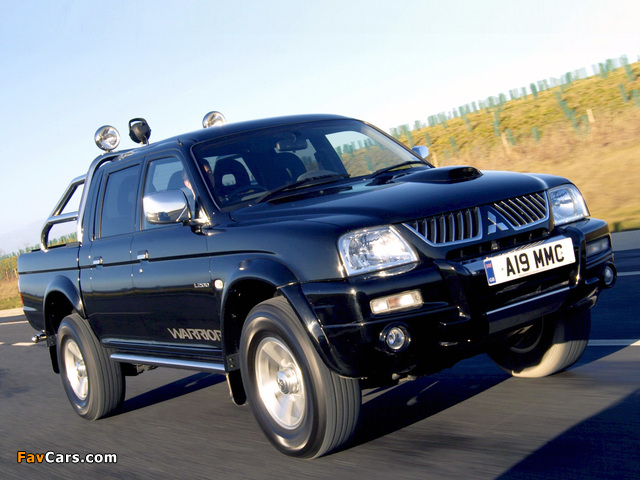 Images of Mitsubishi L200 Double Cab Warrior 2005–06 (640 x 480)