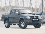 Images of Mitsubishi L200 4Life Double Cab 2005–06