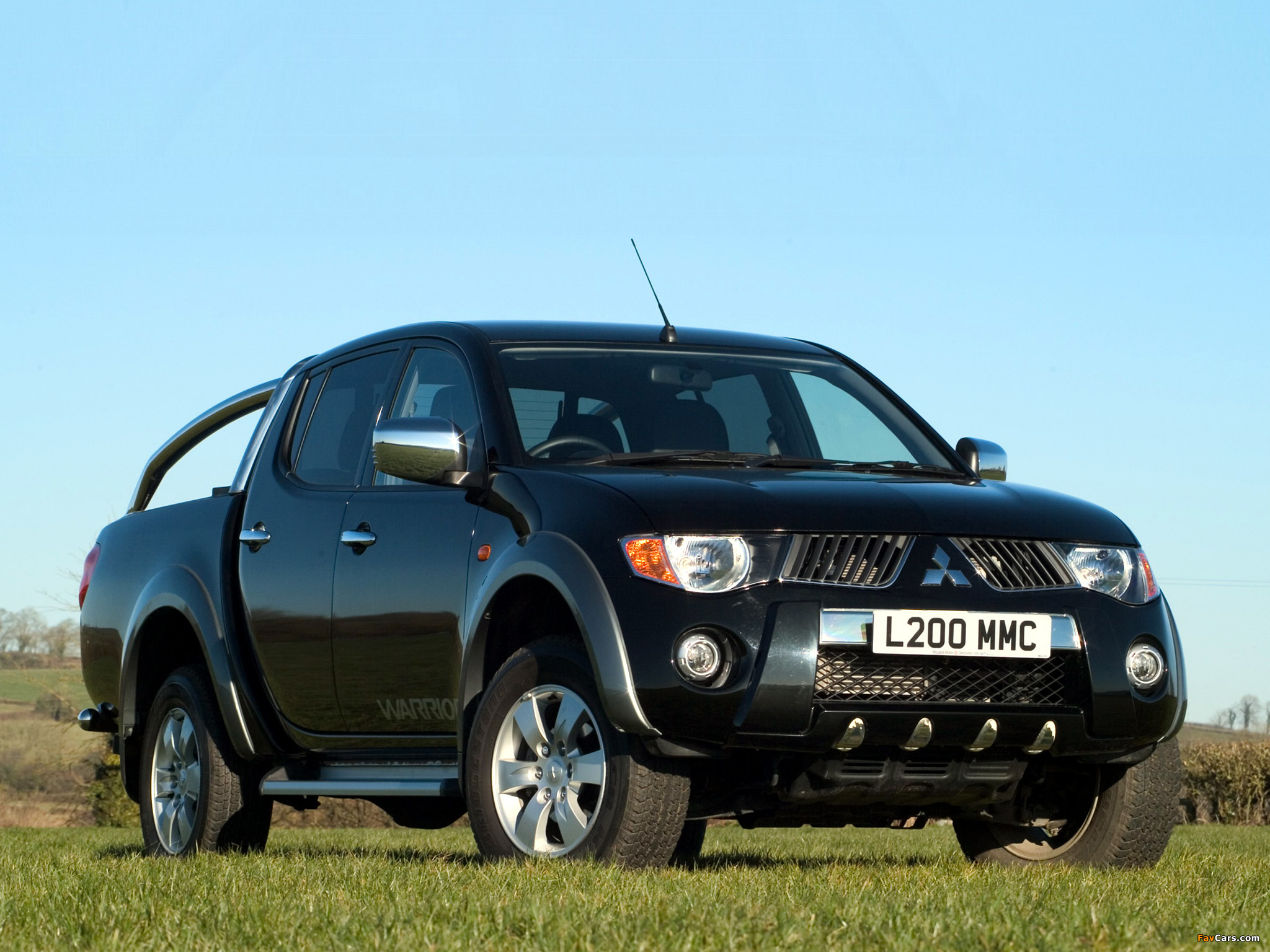 Images of Mitsubishi L200 Double Cab Warrior 2006–10 (2048 x 1536)