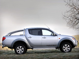 Images of Mitsubishi L200 Double Cab Warrior 2006–10