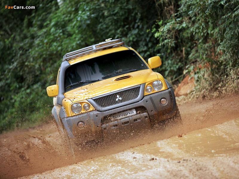 Images of Mitsubishi L200 Savana 2008 (800 x 600)