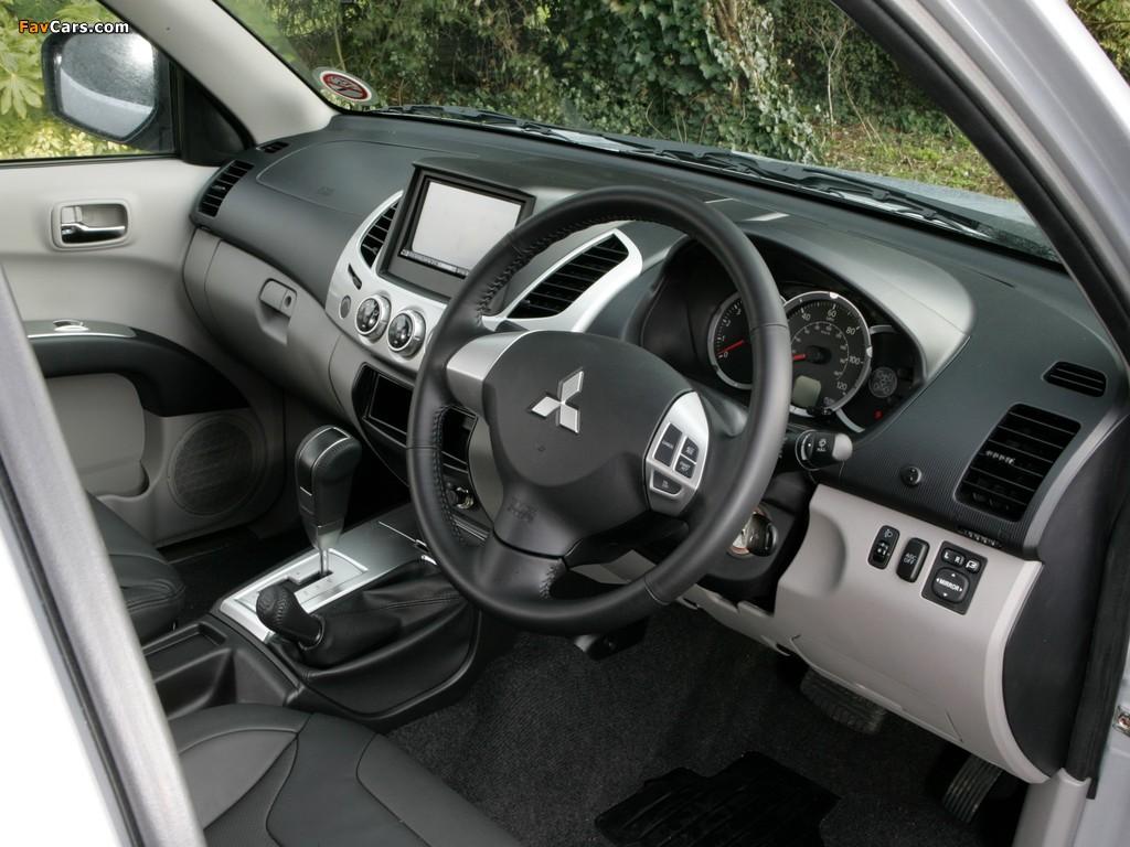 Images of Mitsubishi L200 Barbarian 2010 (1024 x 768)