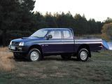 Mitsubishi L200 Club Cab 1996–2001 images