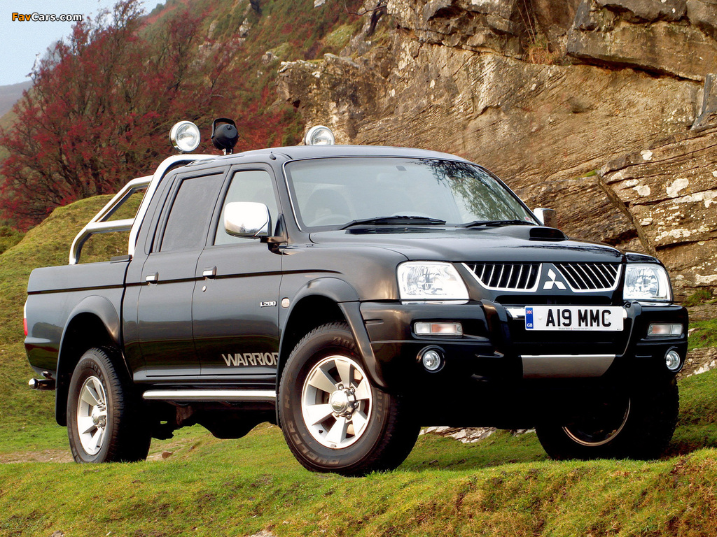 Mitsubishi L200 Double Cab Warrior 2005 06 Pictures 1024x768
