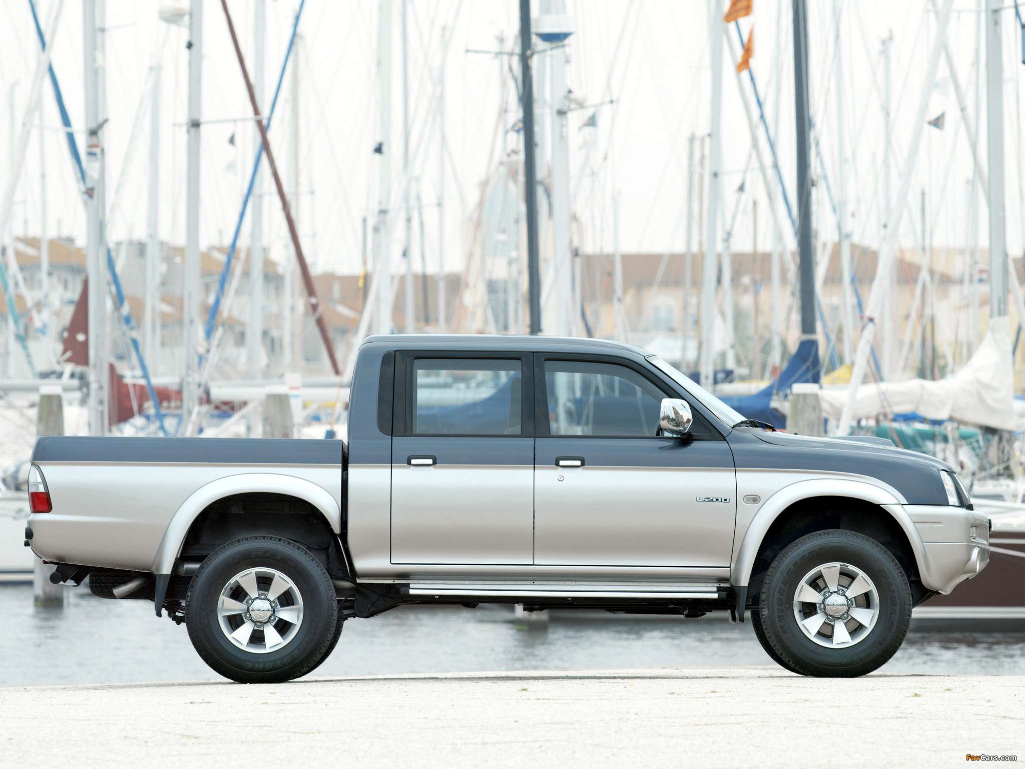 Mitsubishi L200 4Life Double Cab 2005–06 pictures (2048 x 1536)