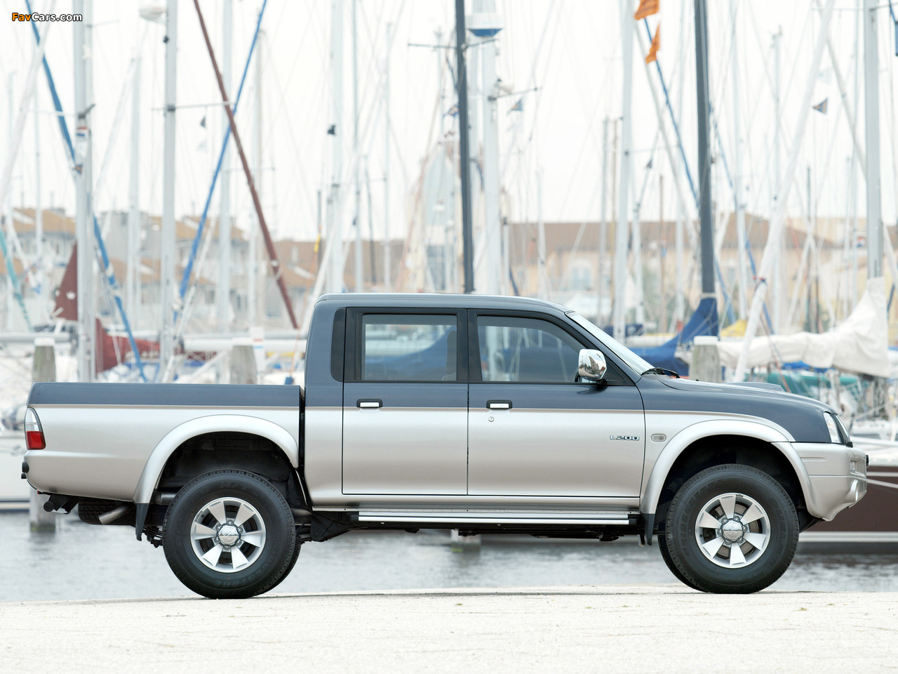 Mitsubishi L200 4Life Double Cab 2005–06 pictures (1280 x 960)