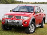 Mitsubishi L200 Animal UK-spec 2006–10 images