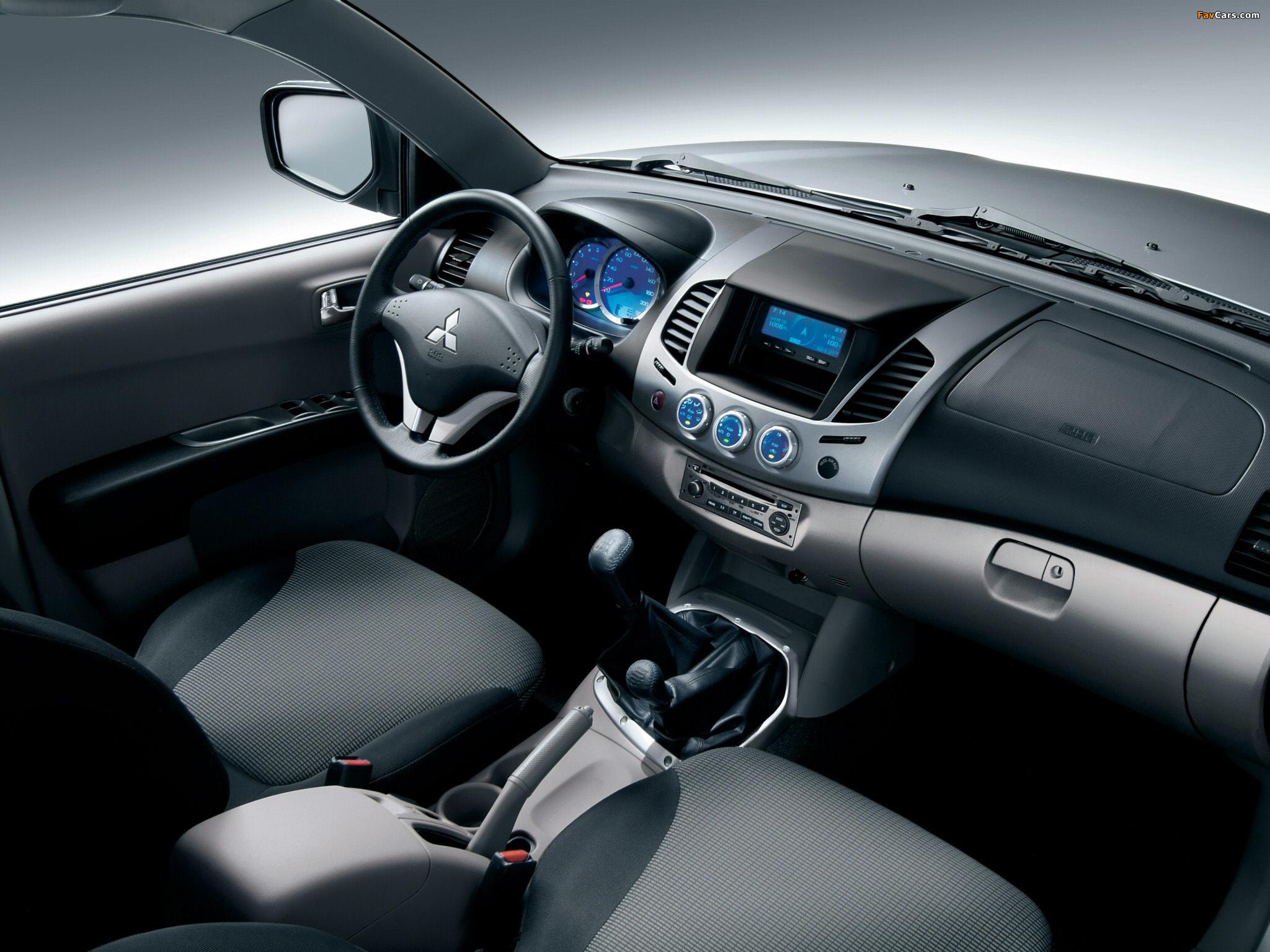 Mitsubishi L200 4Life Double Cab 2006–10 images (2048 x 1536)