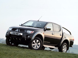 Mitsubishi L200 Double Cab Warrior 2006–10 images