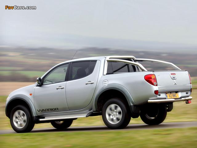 Mitsubishi L200 Double Cab Warrior 2006–10 photos (640 x 480)