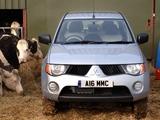 Mitsubishi L200 4Work Double Cab UK-spec 2006–10 photos
