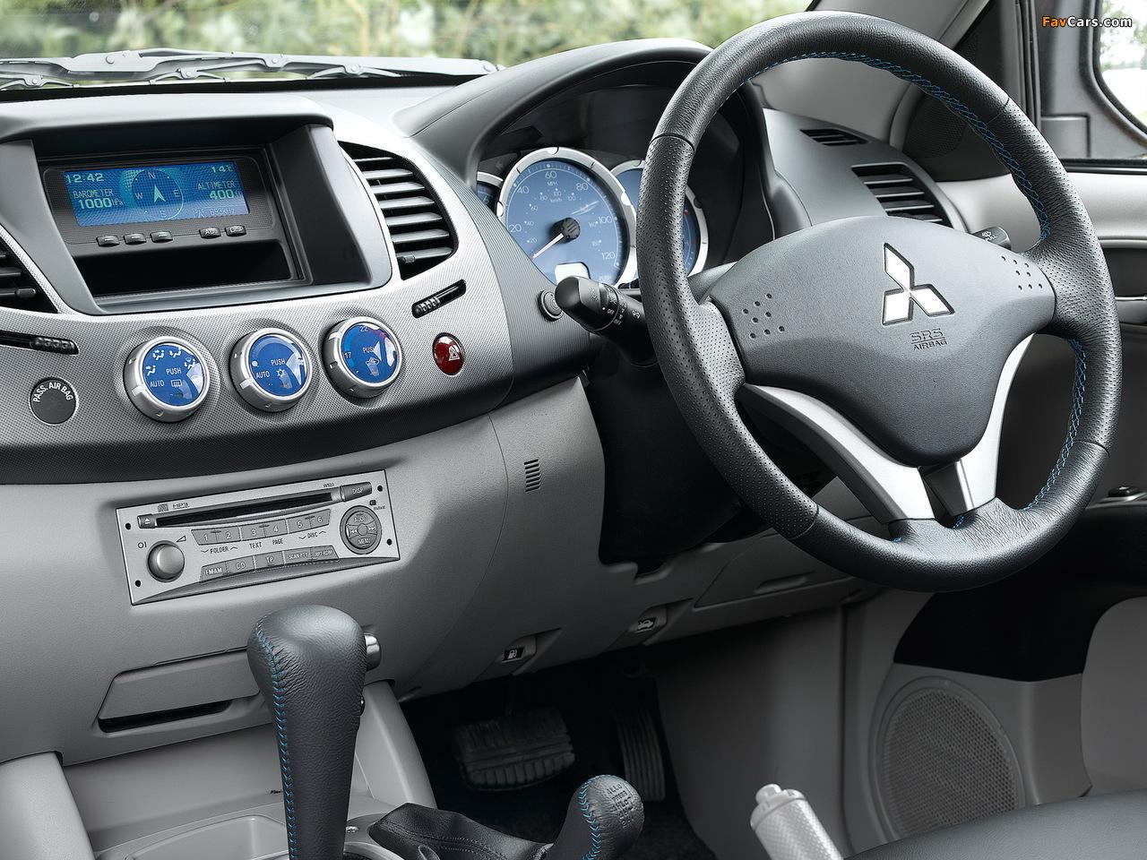 Mitsubishi L200 Animal UK-spec 2006–10 pictures (1280 x 960)