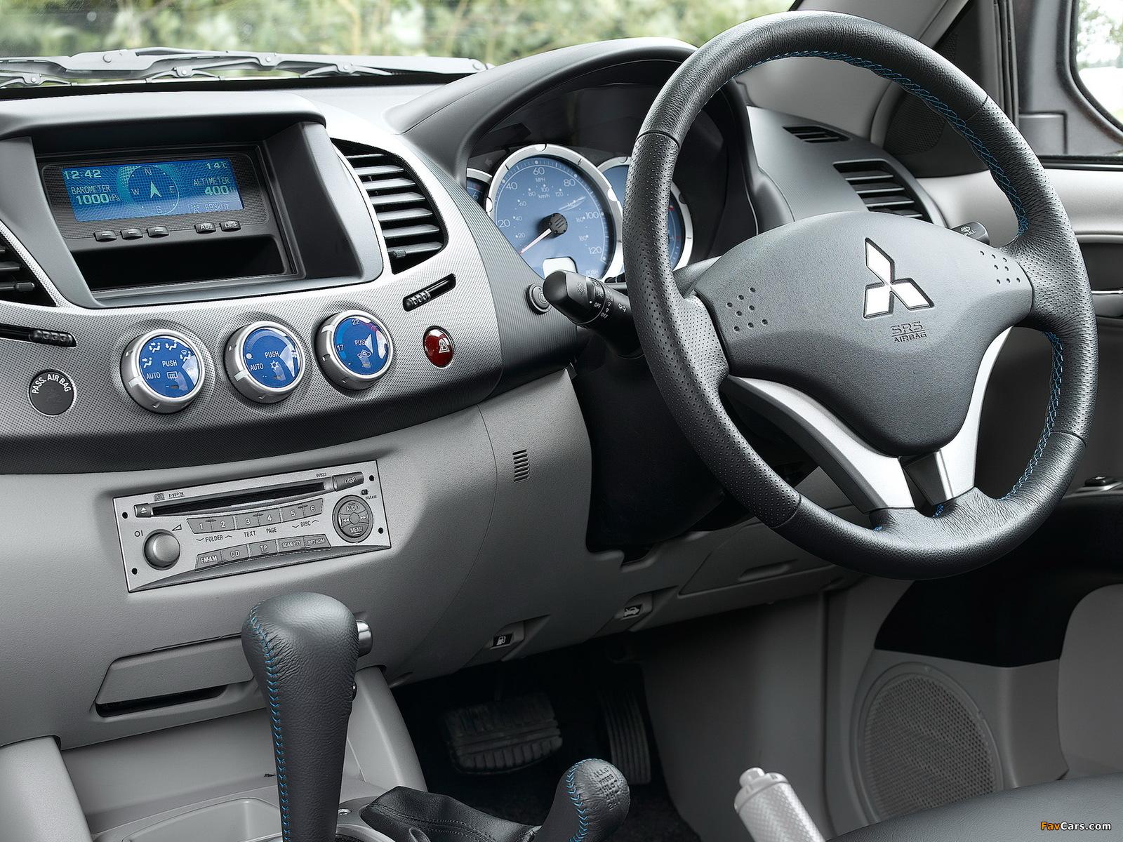 Mitsubishi L200 Animal UK-spec 2006–10 pictures (1600 x 1200)
