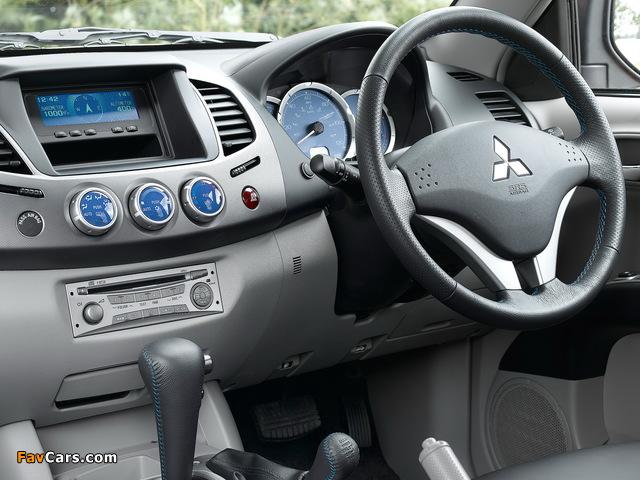 Mitsubishi L200 Animal UK-spec 2006–10 pictures (640 x 480)