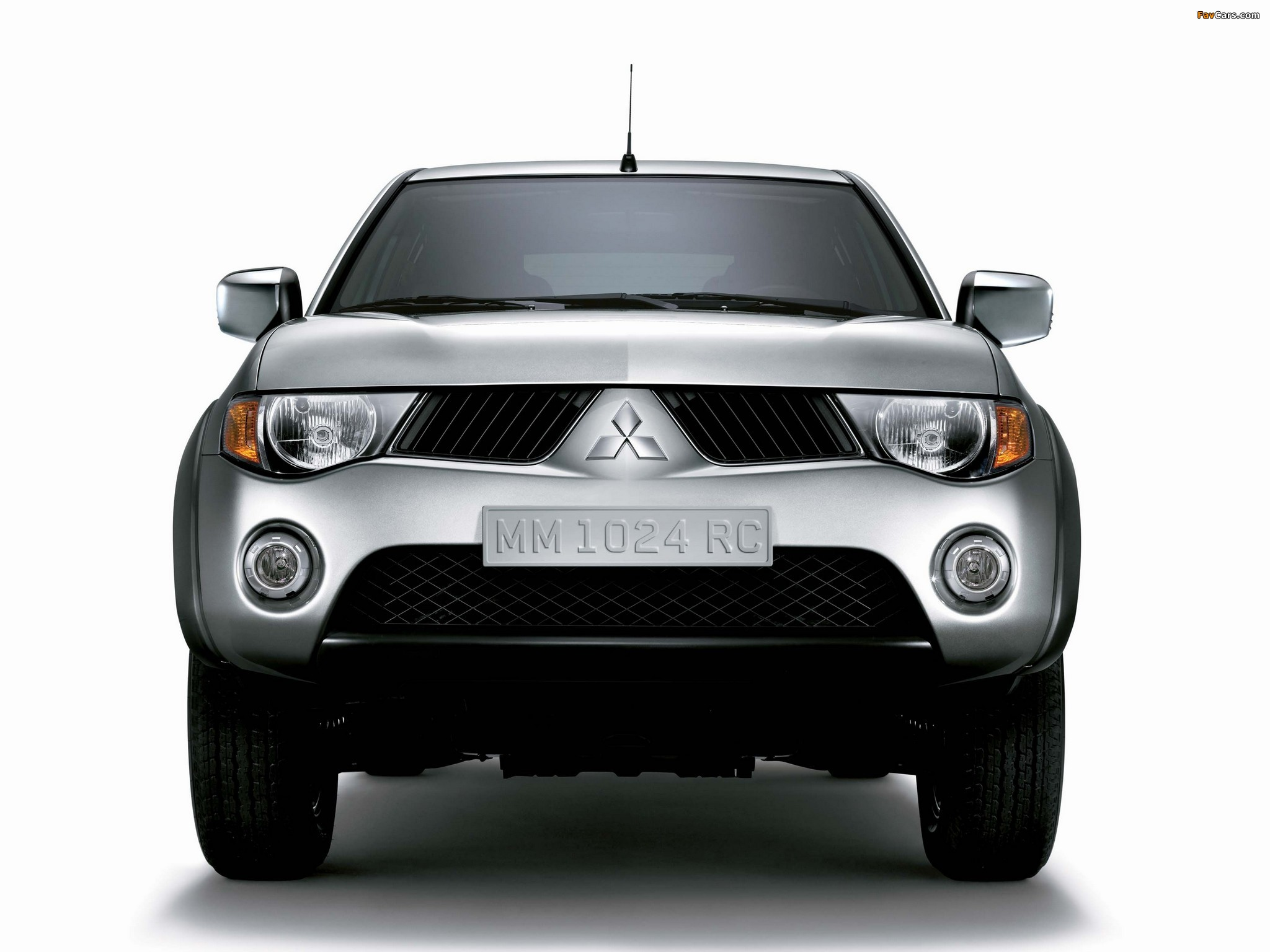 Mitsubishi L200 4Life Double Cab 2006–10 pictures (2048 x 1536)