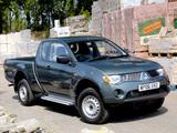 Mitsubishi L200 4Life Club Cab UK-spec 2006–10 pictures