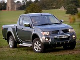 Mitsubishi L200 Club Cab Warrior 2006–10 pictures