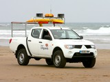 Mitsubishi L200 Beach Lifeguards 2006–10 wallpapers