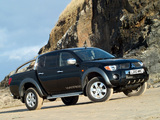 Mitsubishi L200 Double Cab Warrior 2006–10 wallpapers