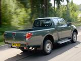 Mitsubishi L200 4Life Club Cab UK-spec 2006–10 wallpapers