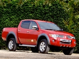 Mitsubishi L200 Double Cab Raging Bull 2007 wallpapers