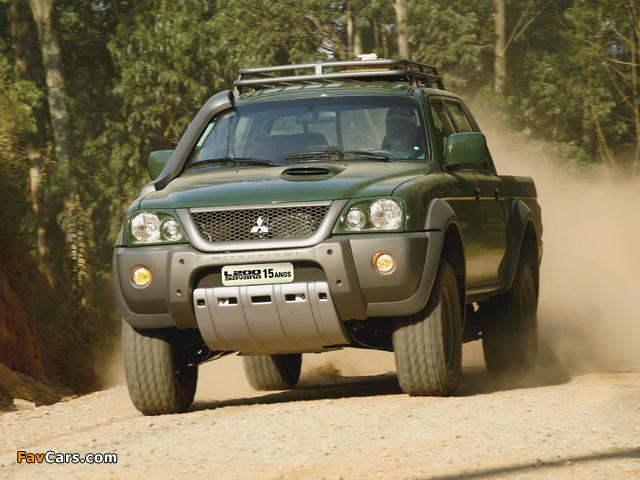 Mitsubishi L200 Savana 15 Anos 2008 photos (640 x 480)