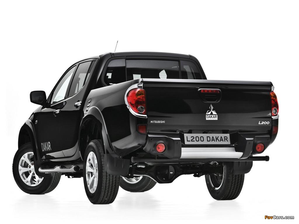 Mitsubishi L200 Dakar 2012 images (1024 x 768)