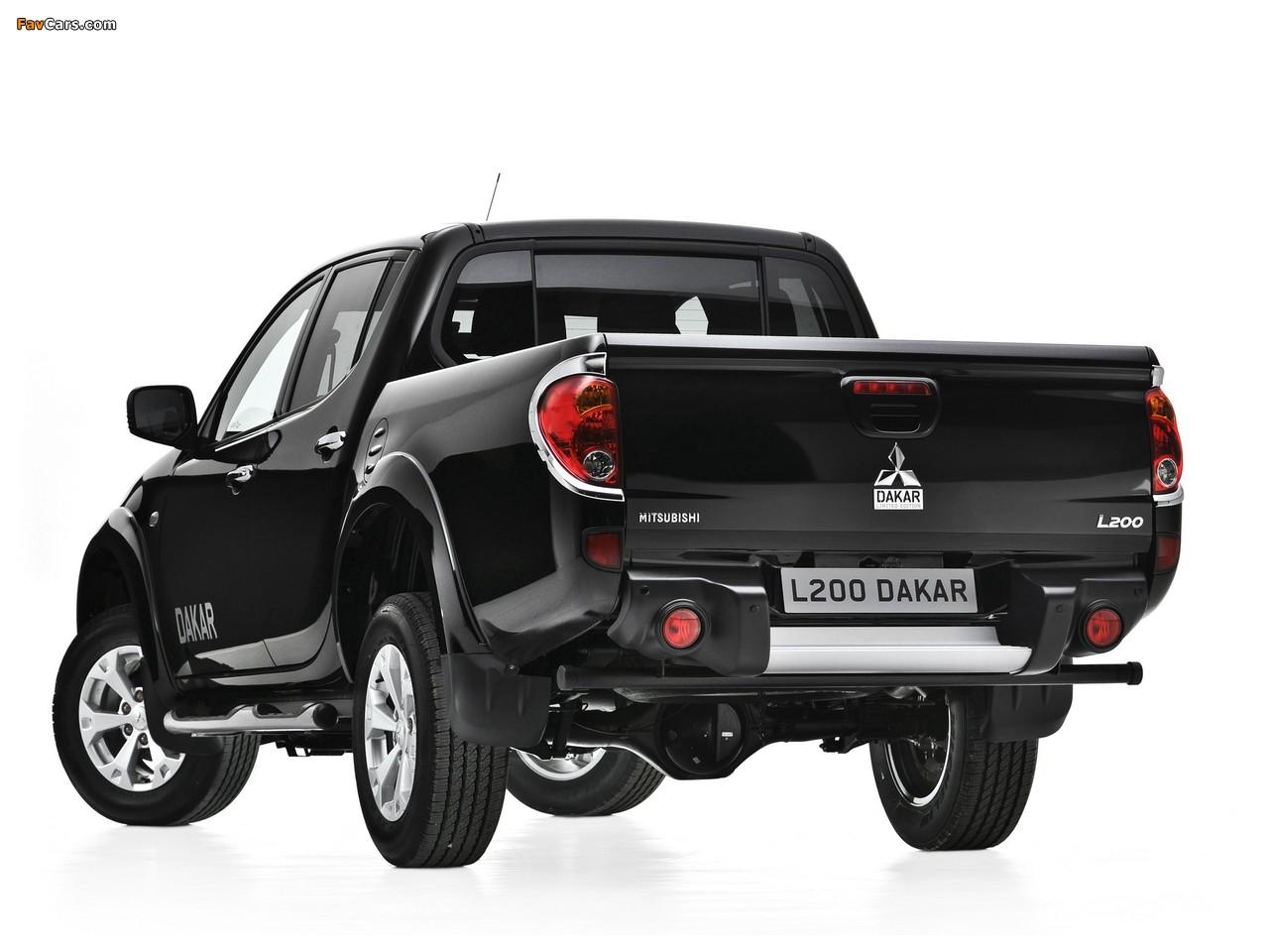 Mitsubishi L200 Dakar 2012 images (1280 x 960)