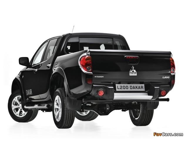 Mitsubishi L200 Dakar 2012 images (640 x 480)