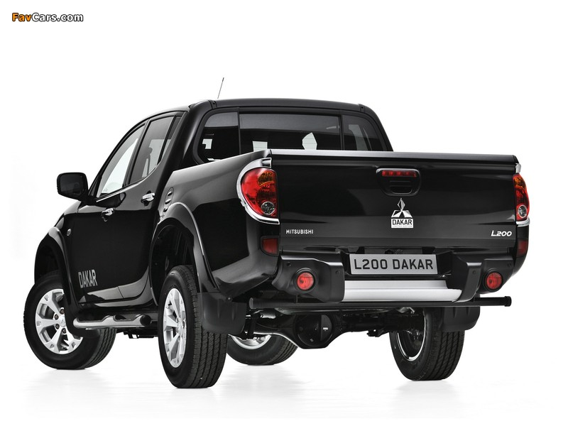 Mitsubishi L200 Dakar 2012 images (800 x 600)