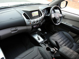 Mitsubishi L200 Barbarian Black 2012 pictures