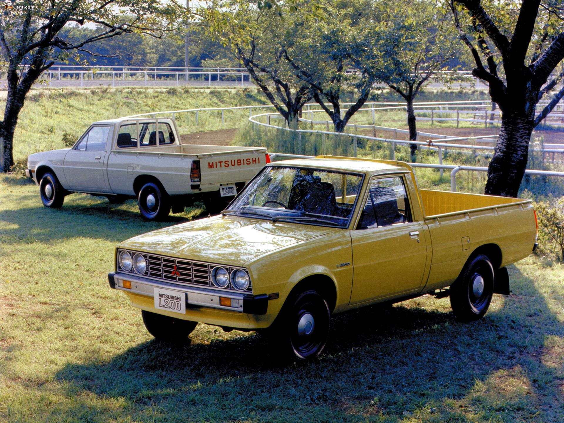 Photos of Mitsubishi L200 1970–81 (1920 x 1440)