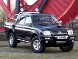Photos of Mitsubishi L200 Double Cab Warrior 2005–06
