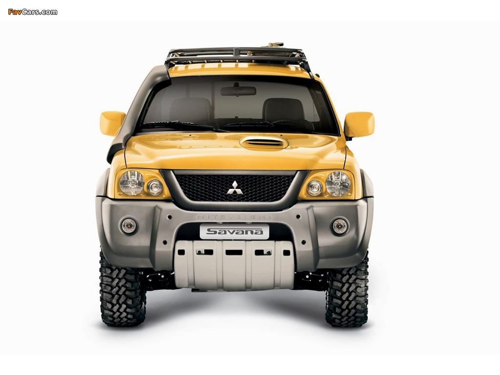 Photos of Mitsubishi L200 Savana 2008 (1024 x 768)